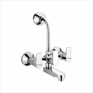 BZ-216 Wall Mixer Telephonic With Wall Bend For Overhead Shower System