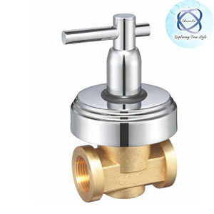 EL-121 FLUSH COCK WITH WASHER SYSTEM AND ADJUSTABLE WALL FLANGE (25MM)