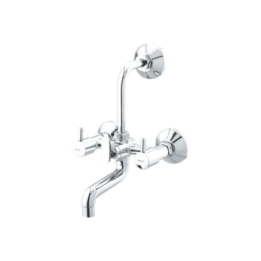 FL-121 WALL MIXER TELEPHONIC WITH LONG BEND