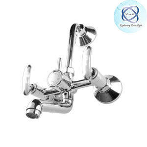 LE-109 WALL MIXER WITH BEND FOR ARRANGEMENT OF OVERHEAD SHOWER