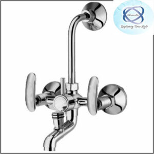 LE-117 WALL MIXER 3 IN 1 SYSTEM WITH PROVISION FOR BOTH TELEPHONE SHOWER & OVERHEAD SHOWER