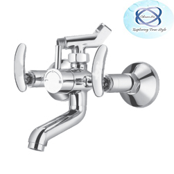 LE-120 WALL MIXER WITH CRUTCH FOR ARRANGEMENT OF TELEPHONIC SHOWER