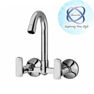 LV-110 SINK MIXER WITH REGULAR SWINGING SPOUT