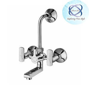LV-112 WALL MIXER WITH BEND