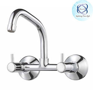 MF-114 SINK MIXER WITH EXTENDED SWINGING SPOUT