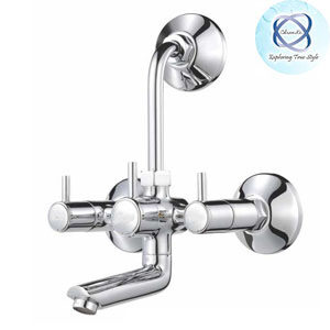 MF-119 WALL MIXER WITH BEND FOR ARRANGEMENT OF OVERHEAD SHOWER