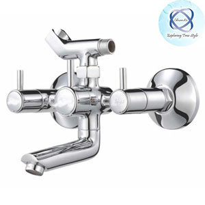 MF-120 WALL MIXER WITH CRUTCH FOR ARRANGEMENT OF TELEPHONIC SHOWER