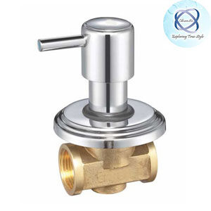 MF-124 FLUSH COCK WITH WASHER SYSTEM AND ADJUSTABLE WALL FLANGE (25MM)