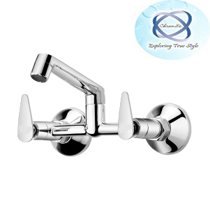 PA-110 SINK-MIXER-WITH-REGULAR-SWINGING-SPOUT
