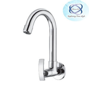 RE-107 SINK COCK WITH REGULAR SWINGING SPOUT