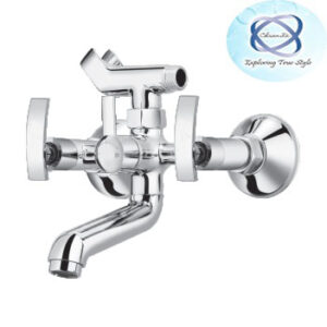 RE-110 WALL MIXER WITH CRUTCH FOR ARRANGEMENT OF TELEPHONIC SHOWER