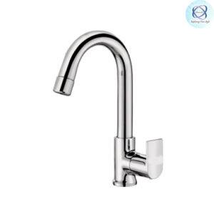 SE-108 SINK COCK WITH REGULAR SWINGING SPOUT