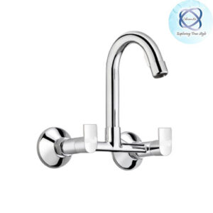 SE-110 SINK MIXER WITH REGULAR SWINGING SPOUT