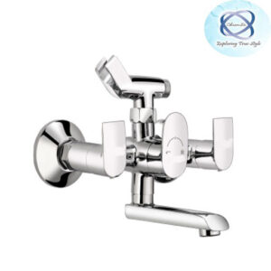 SE-112 WALL MIXER WITH CRUTCH FOR ARRANGEMENT OF TELEPHONIC SHOWER