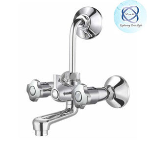 SH-110 WALL MIXER WITH BEND