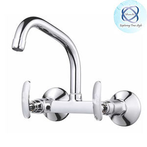 SI-114 SINK MIXER WITH EXTENDED SWINGING SPOUT