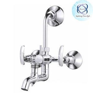 SI-118 WALL MIXER 3 IN 1 SYSTEM WITH PROVISION FOR BOTH TELEPHONE SHOWER & OVERHEAD SHOWER