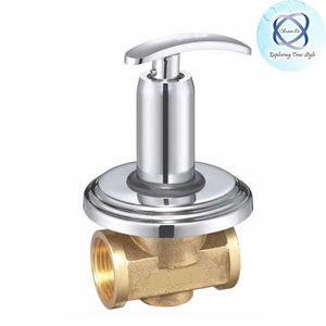SI-119 FLUSH COCK WITH WASHER SYSTEM AND ADJUSTABLE WALL FLANGE (25MM)