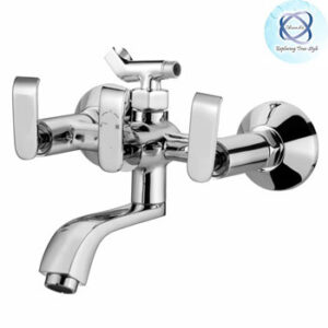 ZA-113 Wall Mixer With Crutch for Arrang Of Telephonic Shower- Over Head Shower
