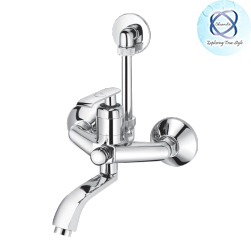 ZA-127 SINGLE LEVER WALL MIXER WITH PROVISION FOR OVERHEAD SHOWER