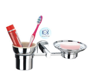 EL-108 Double Soap Dish with tumbler
