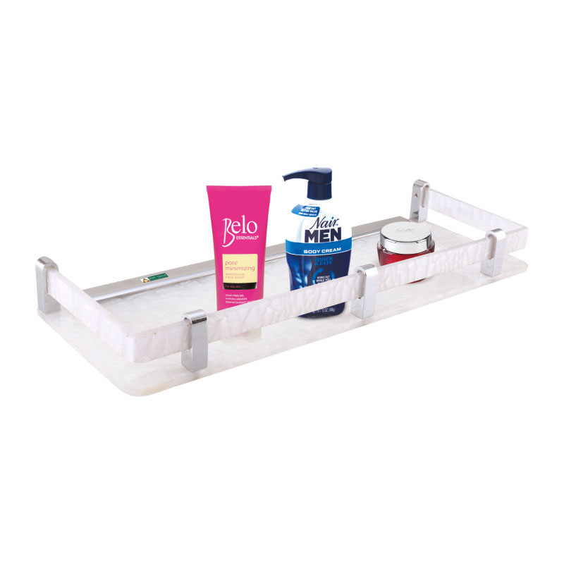 MB-2002-Front-Shelf-White-Marble-18in